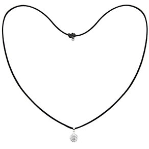Tresor Paris 12mm white crystal necklace - Product number 1126865