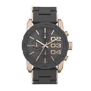 Diesel Ladies' Gunmetal & Rose Gold Tone Bracelet Watch - Product number 1131451