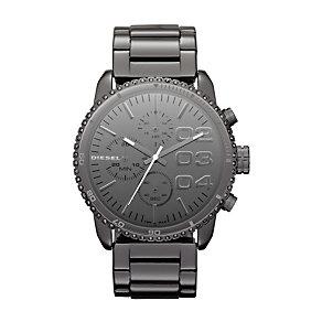 Diesel Ladies' Gunmetal Stainless Steel Bracelet Watch - Product number 1132148