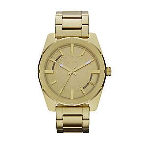 Diesel Ladies' Gold Tone Stainless Steel Bracelet Watch - Product number 1132199