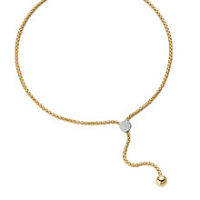 Fope Flex' It Solo 18ct yellow & white gold diamond necklace - Product number 1134434