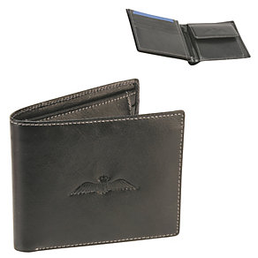 Royal Air Force Embossed Black Leather Wallet - Product number 1134558