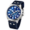 TW Steel Pilot men's stainless steel blue strap watch - Product number 1149245