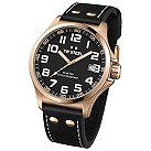 TW Steel Pilot men's stainless steel black strap watch - Product number 1149350