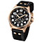 TW Steel Pilot men's rose gold-plated black strap watch - Product number 1149369