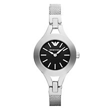 Emporio Armani Ladies' Stainless Steel Mesh Bracelet Watch - Product number 1149520