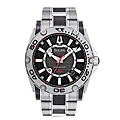 Bulova Precisionist Men's Steel & Black Carbon Fibre Watch - Product number 1149695