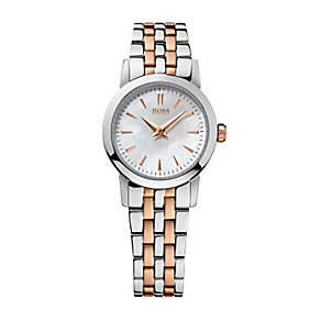 Hugo Boss Mini ladies' two colour bracelet watch - Product number 1151614