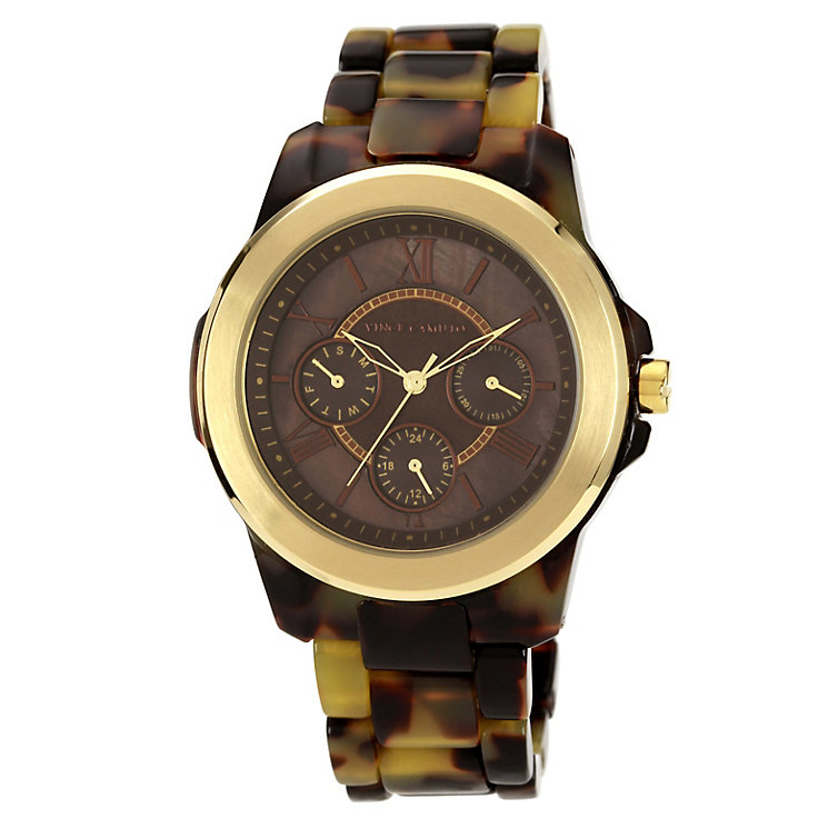 Vince Camuto Ladies' Brown Tortoiseshell Bracelet Watch - Product number 1152793