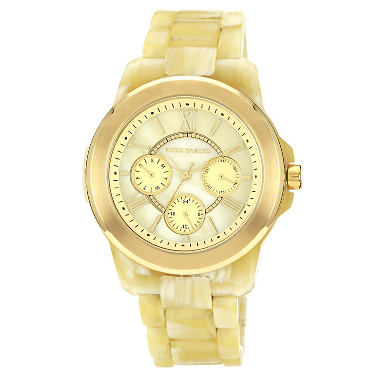 Vince Camuto Ladies' Cream Horn Bracelet Watch - Product number 1152807