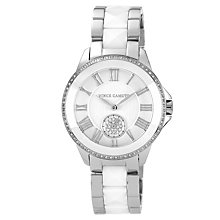 Vince Camuto Ladies' Steel & White Ceramic Bracelet Watch - Product number 1152815