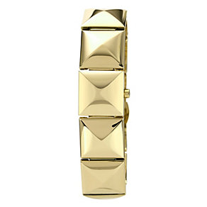 Vince Camuto Ladies' Gold Tone Pyramid Bracelet Watch - Product number 1152858