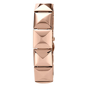 Vince Camuto Ladies' Rose Gold Tone Pyramid Bracelet Watch - Product number 1152866