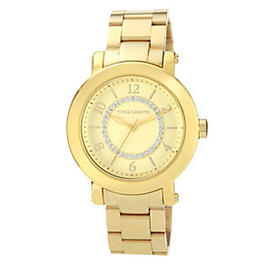 Vince Camuto Ladies' Crystal Gold Tone Bracelet Watch - Product number 1152904