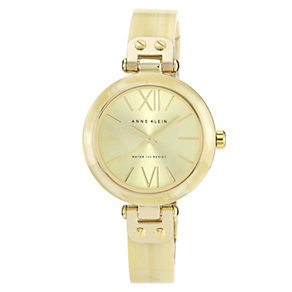 Anne Klein Ladies' Horn Half Bangle Watch - Product number 1153943