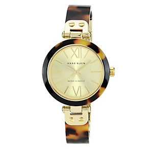 Anne Klein Ladies' Tortoiseshell Half Bangle Watch - Product number 1153951