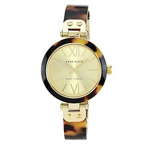Anne Klein Ladies' Tortoiseshell Half Bangle Watch - Product number 1153951