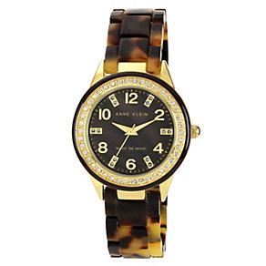 Anne Klein Ladies' Brown Tortoiseshell Bracelet Watch - Product number 1154206