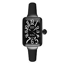 Glam Rock Miami Beach Ladies' Black Silicone Strap Watch - Product number 1210033