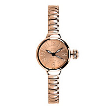 Glam Rock Miami Beach Ladies' Rose Gold Tone Bracelet Watch - Product number 1210270