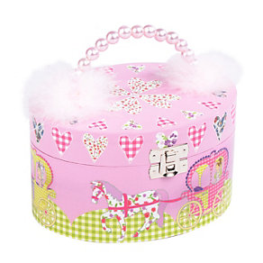 Little Princess Oval Jewellery Box - Product number 1210440