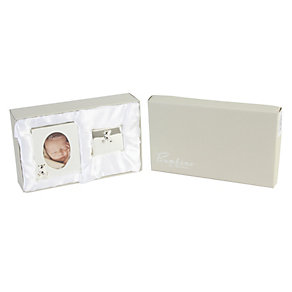 Bambino silver-plated photo frame & box - Product number 1212117
