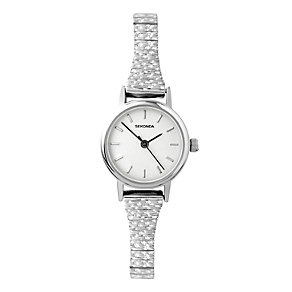 Sekonda Ladies' Silver Dial Expander Bracelet Watch - Product number 1213407