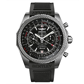 Breitling Bentley titanium black rubber strap watch - Product number 1218107