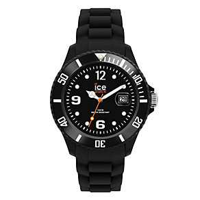 Ice-Watch Men's Black Silicone Strap Watch - Product number 1220349