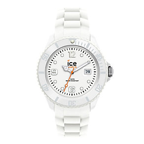 Ice-Watch Men's White Silicone Strap Watch - Product number 1220357