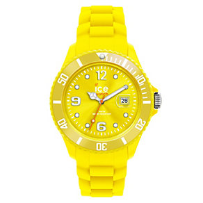 Ice-Watch Men's Yellow Silicone Strap Watch - Product number 1220373