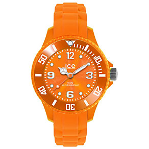Ice-Watch Orange Silicone Strap Watch - Product number 1220381