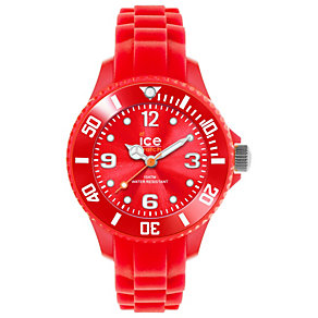 Ice-Watch Ladies' Red Silicone Strap Watch - Product number 1220403