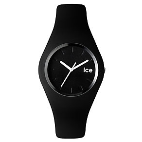 Ice-Watch Ladies' Black & White Silicone Strap Watch - Product number 1220535
