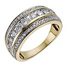 18ct yellow gold one carat diamond eternity ring - Product number 1221736