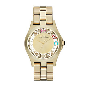 Marc by Marc Jacobs Henry ladies' gold-plated bracelet watch - Product number 1221914