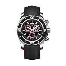 Breitling Superocean men's red rubber strap watch - Product number 1222708