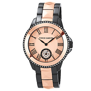 Vince Camuto Ladies' Crystal Two Tone Bracelet Watch - Product number 1222791