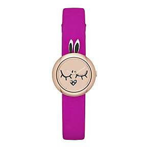 Marc by Marc Jacobs Critters ladies' pink rabbit watch - Product number 1223003