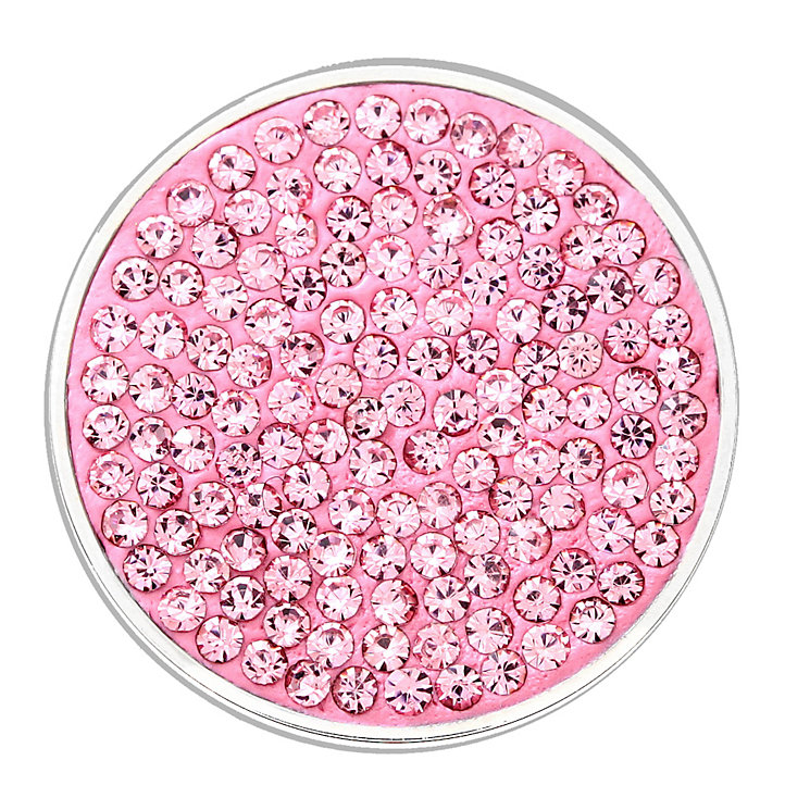 Lucet Mundi light pink crystal coin - small - Product number 1225650