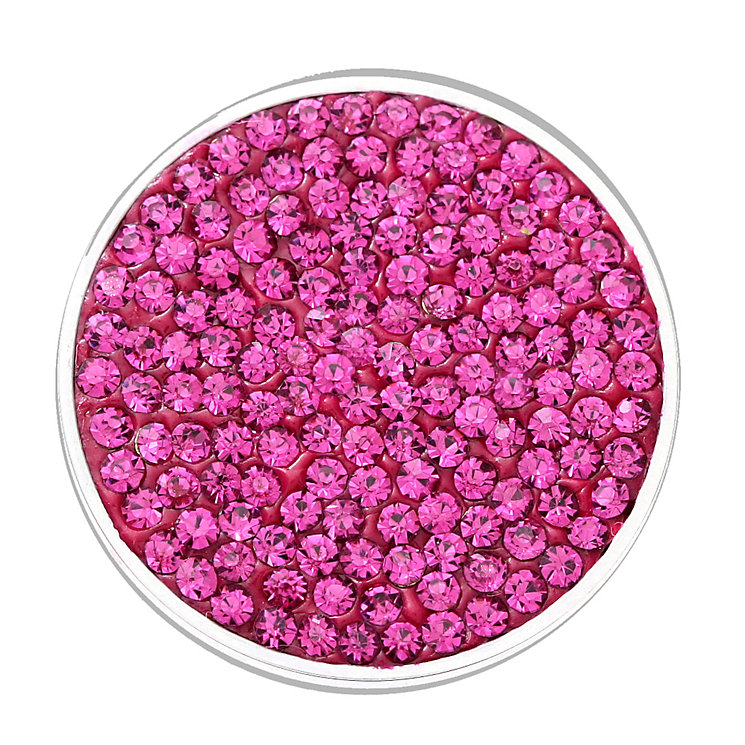 Lucet Mundi dark rose crystal coin - small - Product number 1225669