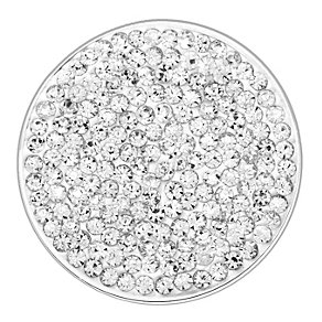 Lucet Mundi white crystal coin - large - Product number 1225758