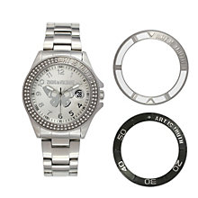 Zadig & Voltaire Ladies' Crystal 3 Bezel Bracelet Watch - Product number 1231960