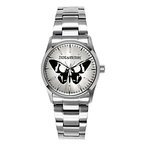 Zadig & Voltaire Ladies' Steel Butterfly Bracelet Watch - Product number 1232002
