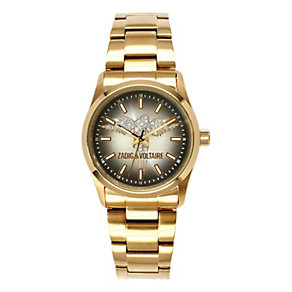 Zadig & Voltaire Ladies' Gold Tone Angel Bracelet Watch - Product number 1232037