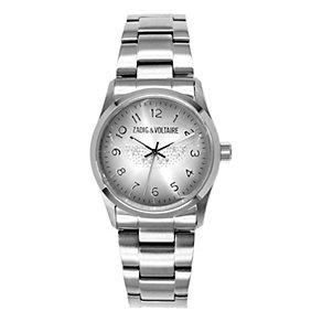 Zadig & Voltaire Ladies' Steel Crystal Wings Bracelet Watch - Product number 1232061