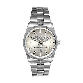 Zadig & Voltaire Ladies' Steel Crystal Angel Bracelet Watch - Product number 1232231