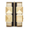 Karl Lagerfeld Zip ladies' gold-plated strap watch - Product number 1232746