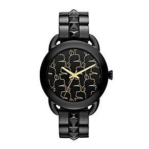Karl Lagerfeld Pop ladies' black ion-plated bracelet watch - Product number 1232770