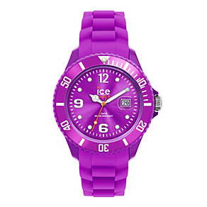 Ice-Watch Ladies' Purple Silicone Strap Watch - Product number 1233297